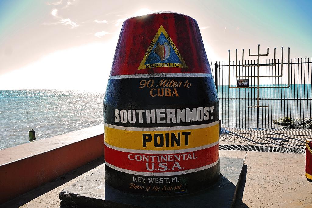 アメリカフロリダ州本土最南端キーウェストの人気観光スポット8選!初旅行の方、必見です