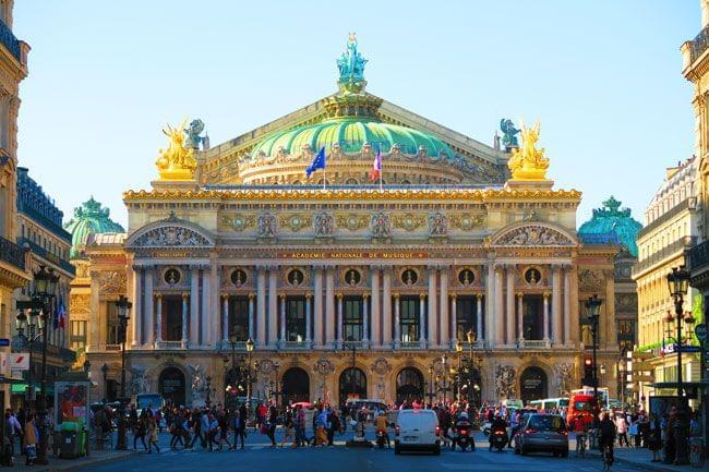 【フランス・パリ】オペラ・ガルニエで豪華気分を味わおう!