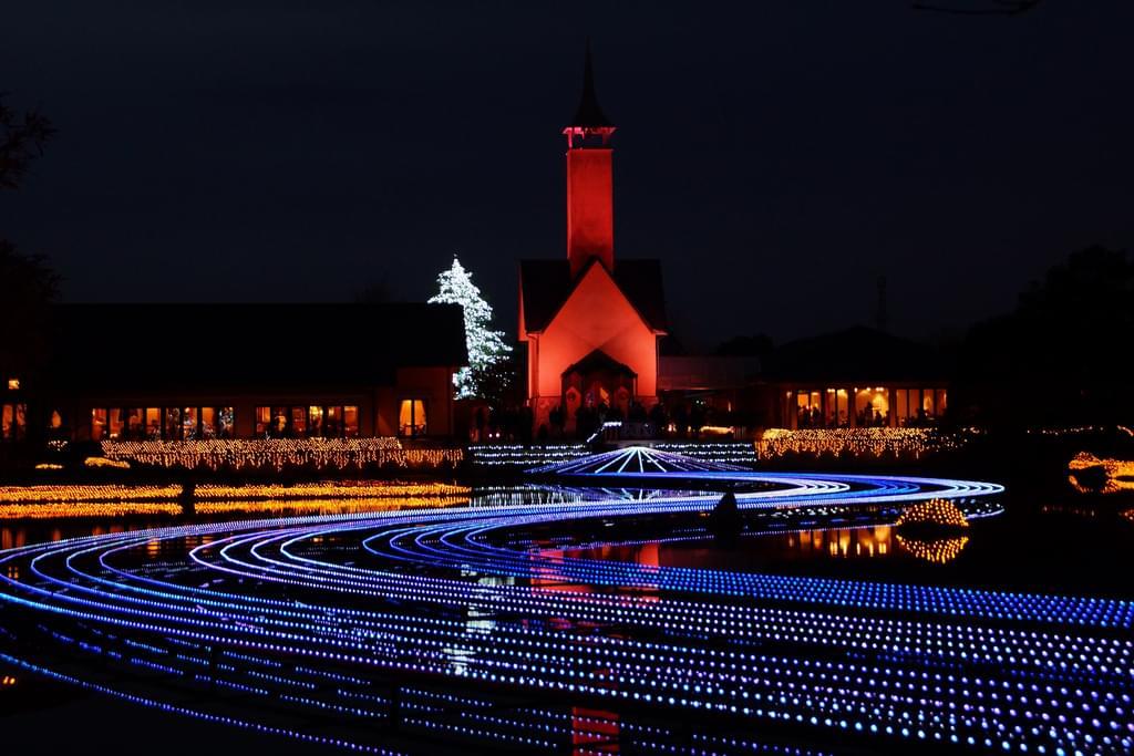 三重県桑名市「なばなの里」で世界一美しいイルミネーションを!光と花の迫力の融合