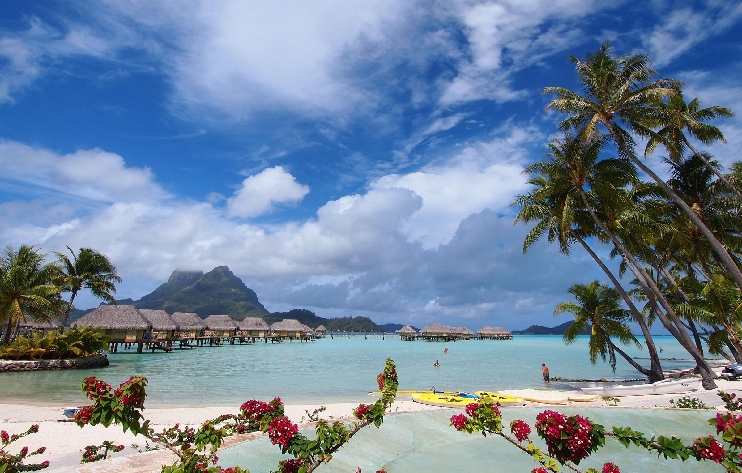 タヒチ本島・ボラボラ島・モーレア島でおすすめのリゾートホテル3選!新婚旅行にぴったりの極上ステイ先