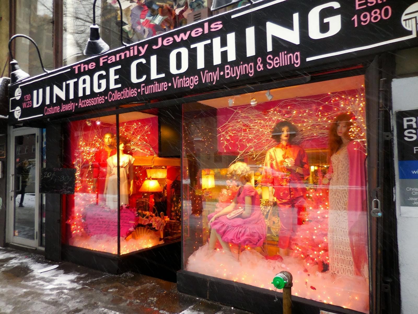 NYファッションといえば!ヴィンテージあさりが楽しすぎる