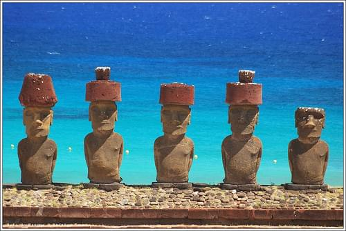 モアイが見守る島!イースター島の巨石文化が圧巻すぎる!