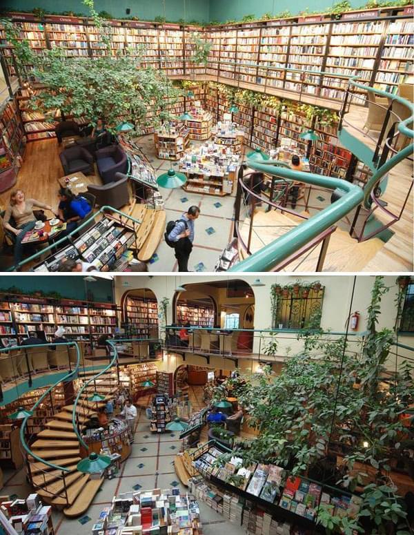 本好き必見!世界の美しい本屋さん20選!こんな書店で珠玉の本に出会いたい