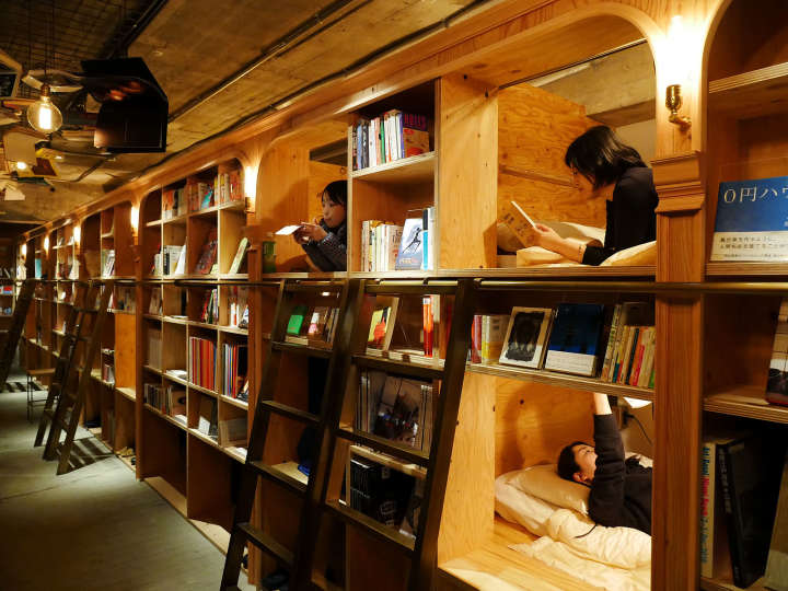 【東京・池袋】新感覚!泊まれる本屋「BOOK AND BED TOKYO」の魅力に迫る!