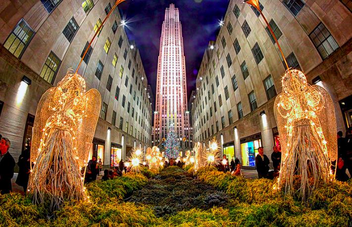 今年のクリスマスはNYで♡聖夜に輝くオススメツリー5選