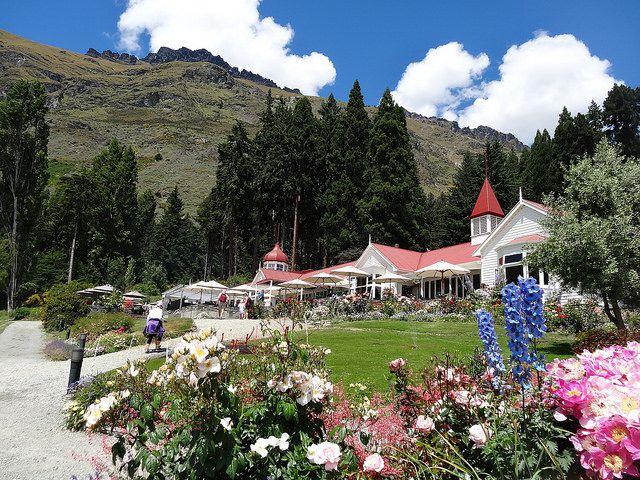【クイーンズタウン】お洒落なガーデンとおすすめカフェでニュージーランドの花を満喫!