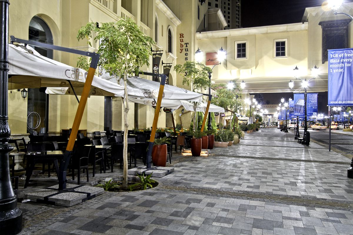 今注目のドバイ・マリーナ地区お散歩スポット!