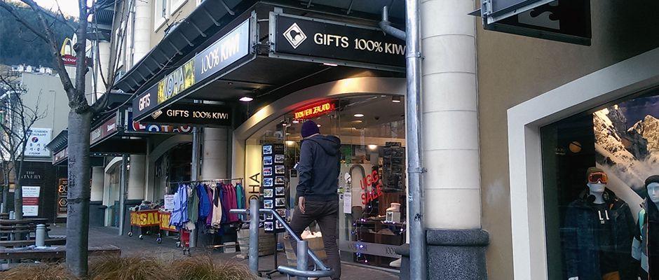 クイーンズタウンのお土産はここ!ニュージーランドならではの厳選ショップ!