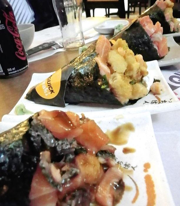 ブラジルで手巻き寿司を食べるなら「クイックテマキ」へ行こう!ボリューム満点、恐るべし手巻きたち