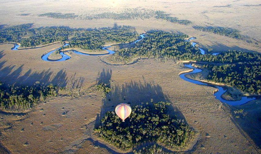 ケニアのマサイマラ国立保護区!熱気球でアフリカを体感!