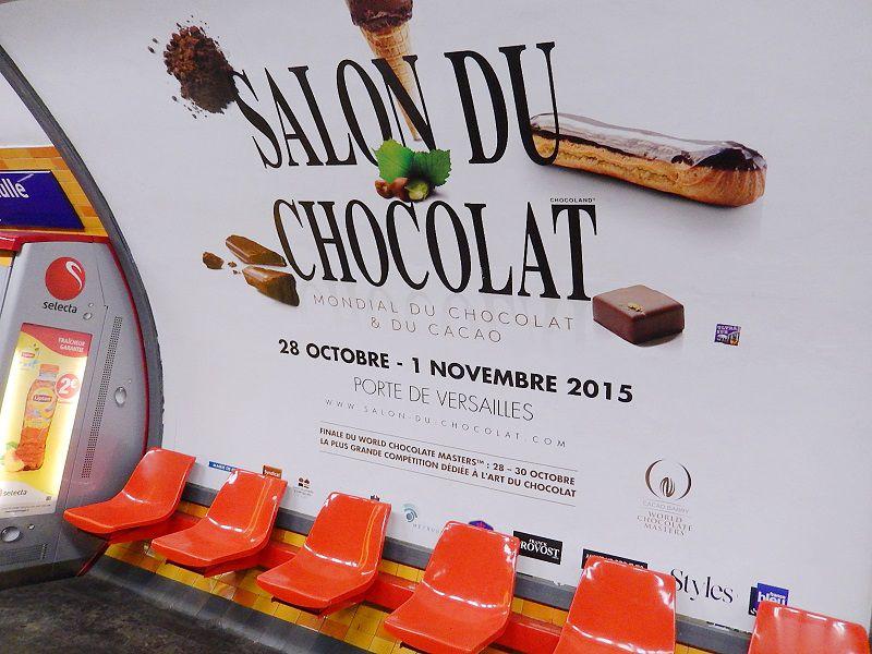 【パリ】チョコレートの祭典!サロン・ド・ショコラ(Le Salon du Chocolat)に遊びに行こう!