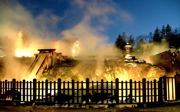 日本三名泉・草津温泉の効能がすごい!湯畑のライトアップは絶景!