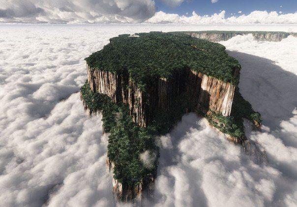 カールじいさんの空飛ぶ家のモデル地!ベネズエラ・ロライマ山が絶景すぎる!