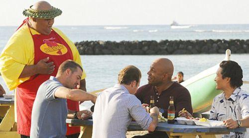 刑事ドラマ「ハワイ・ファイブ・オー」でもお馴染み!オアフ島シュリンプワゴン「マッキーズ シュリンプトラック」