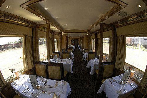 南アフリカで世界一豪華な寝台列車ブルートレインに乗ろう!全室スイートの憧れ鉄道ホテル