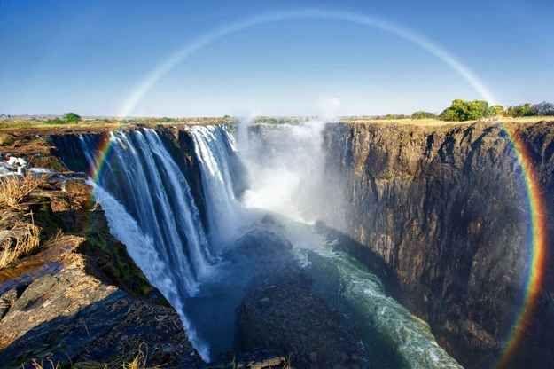奇跡の絶景!ブラジル世界三大瀑布・イグアスの滝三大レインボーが美しすぎる