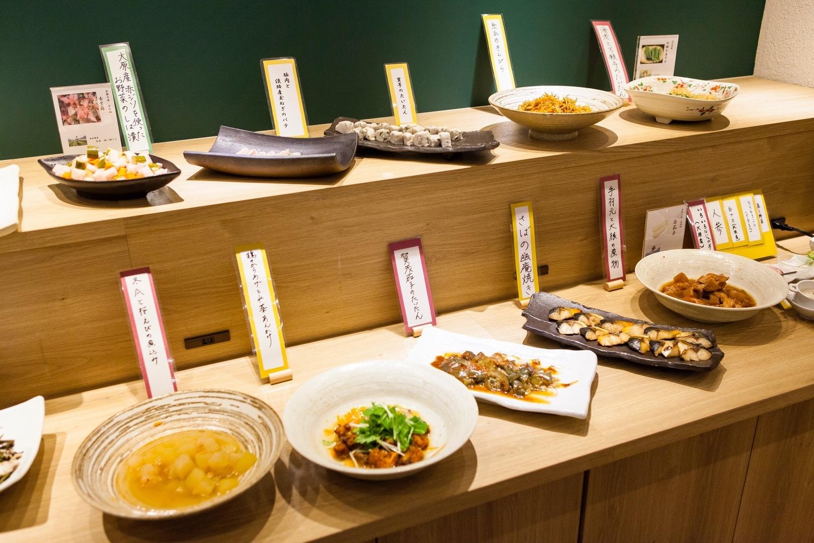 京都名物!京野菜&おばんざいがいっぱい食べられるバイキングのお店4選