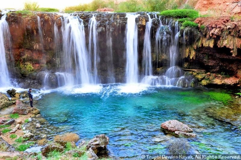 グランドキャニオン奇跡の絶景滝ハバスキャニオン!行き方&おすすめロッジも