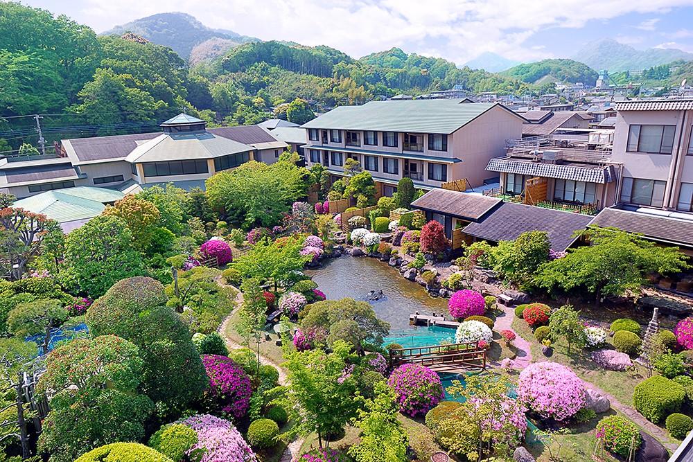 【静岡】ホテルサンバレー伊豆長岡!圧巻の庭園と温泉をたのしもう!