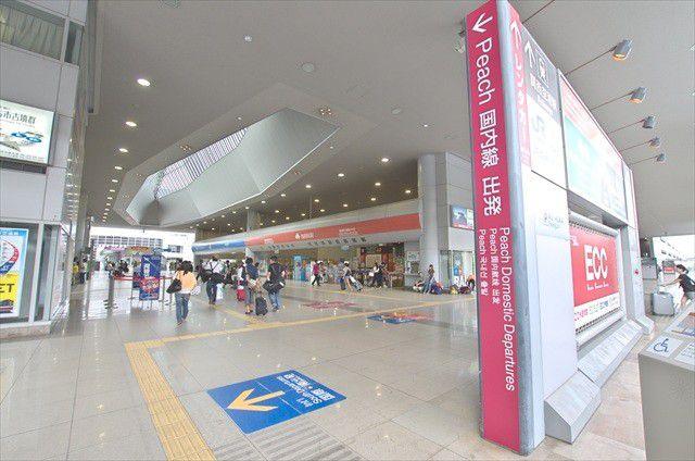 【関西空港】LCC(ピーチ)第二ターミナルはバス移動が必要!レストランは?お土産は買える?