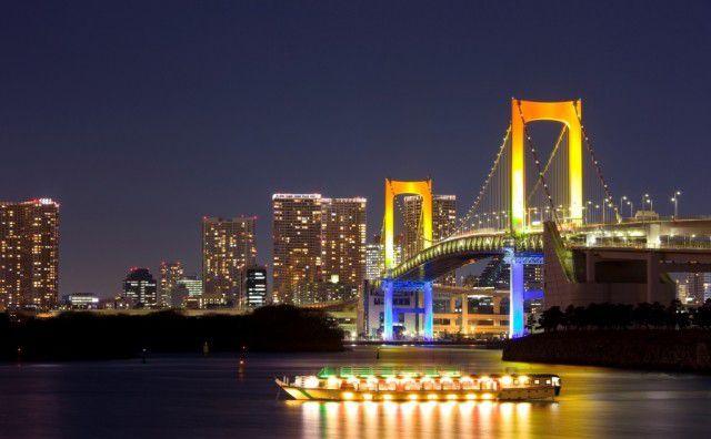 東京・お台場付近の夜景の綺麗な人気ホテル5選!記念日やクリスマス利用におすすめ