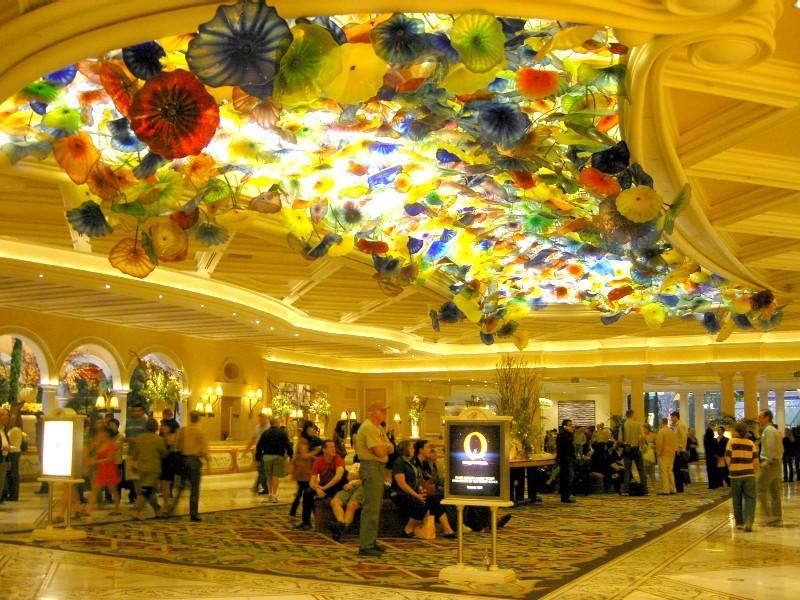 ラスベガスのゴージャスホテル「ベラッジオ」が豪華で素敵すぎる!ピカソレストランも!