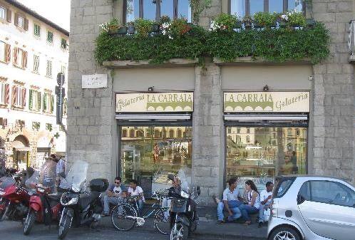 イタリア・フィレンツェの旅で絶品ジェラート食べるなら「ラ・カッライア」がおススメ!最高レベルの味と値段
