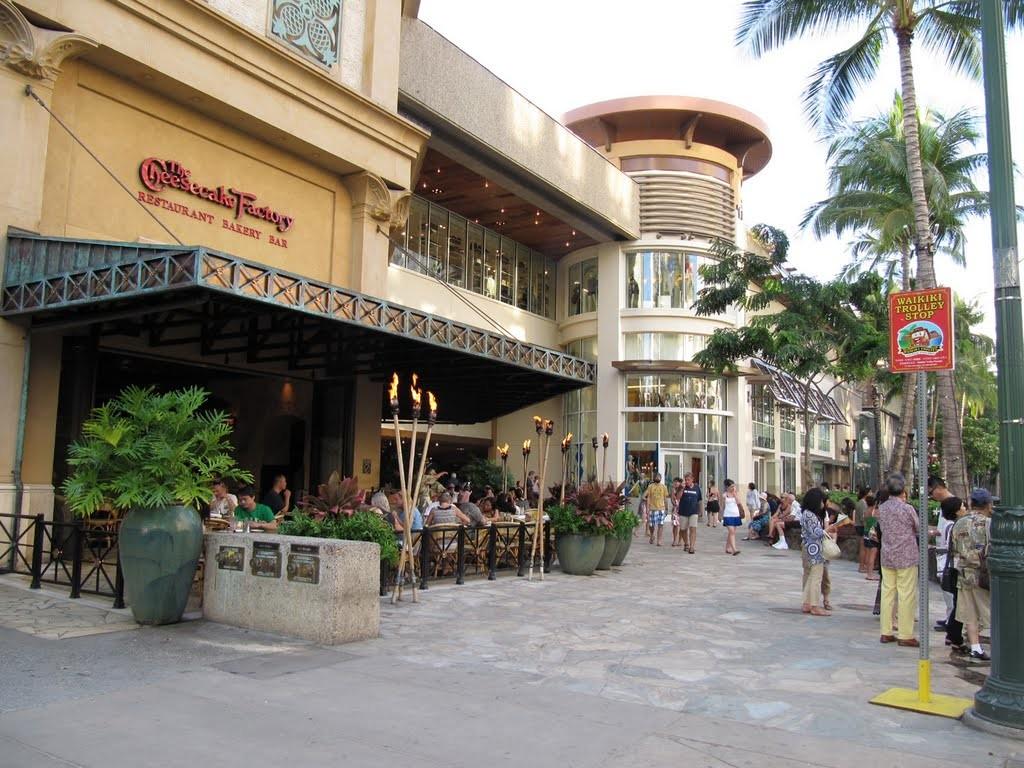 全米で人気のレストラン、チーズケーキファクトリーに行きたい!