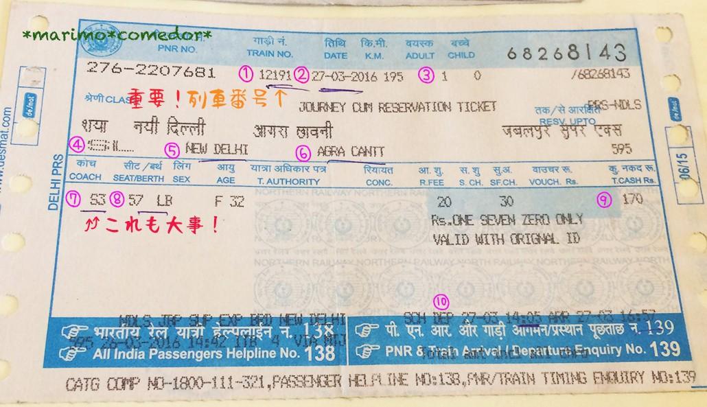 インドの鉄道に乗ってみた!電車予約・乗車方法教えます