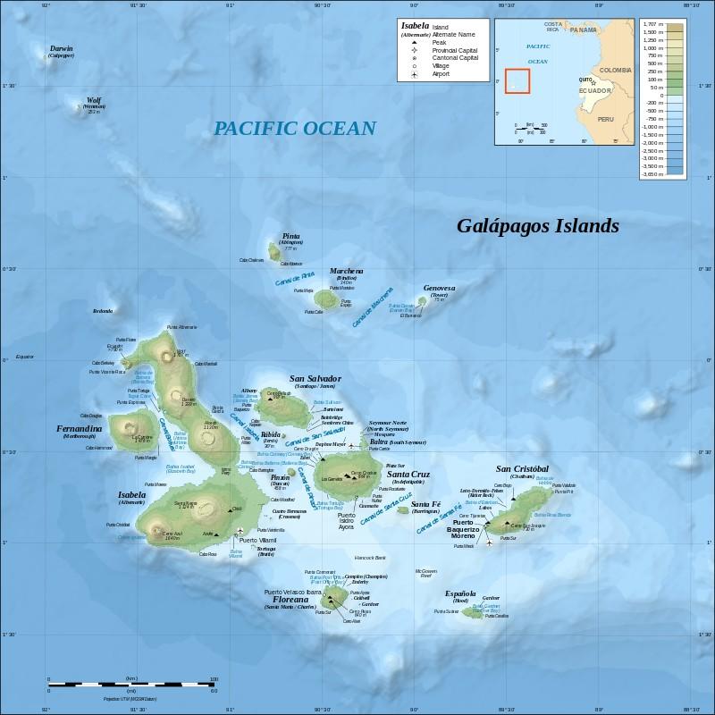 ガラパゴス諸島基本情報【交通手段編】