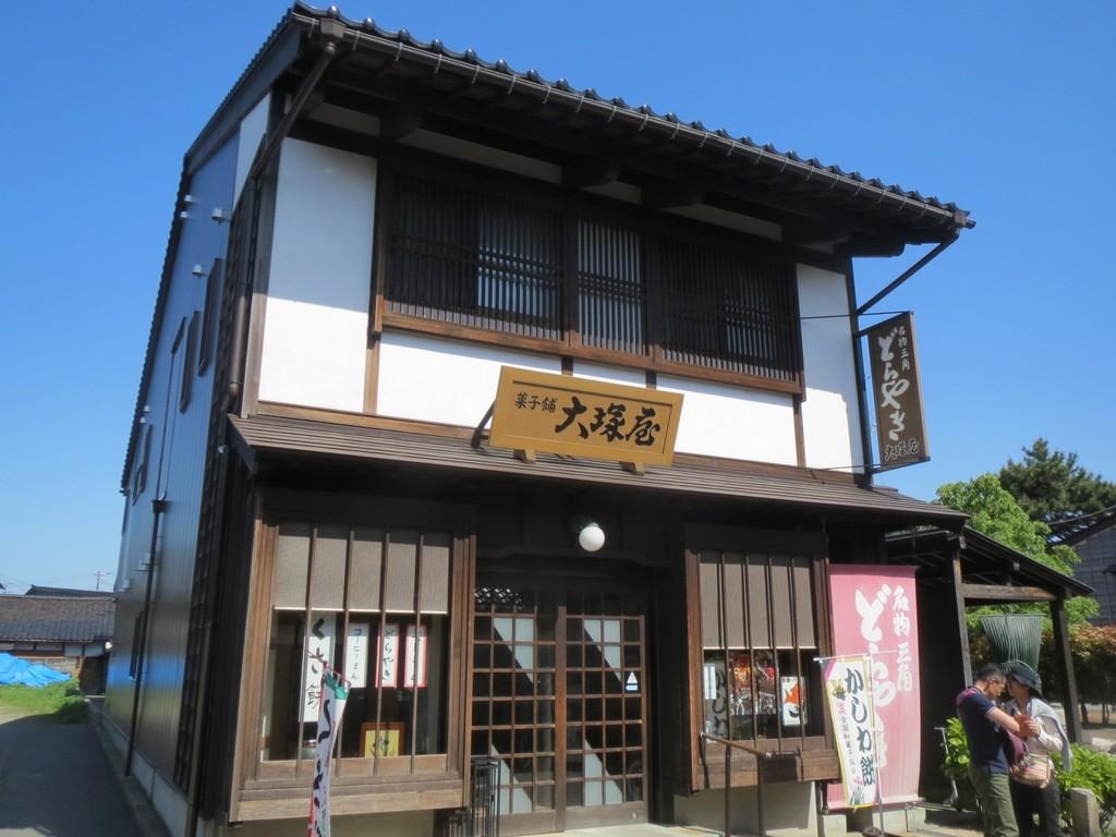 富山県の岩瀬にある古い街並みは北前船で栄えた街だった