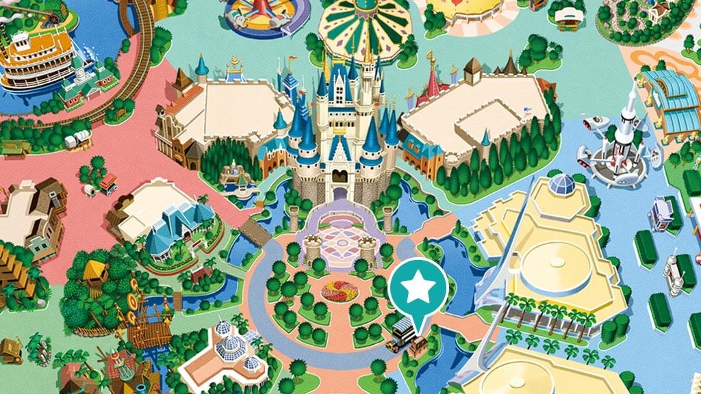 マップで見る、東京ディズニーランド全攻略!