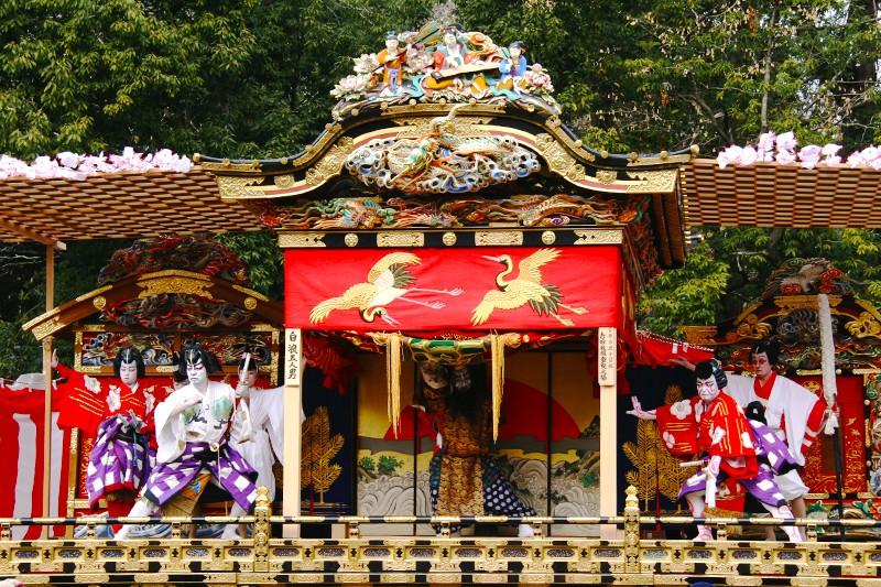 【埼玉・秩父】日本三大曳山祭の秩父夜祭!花火も芝居も迫力満点!