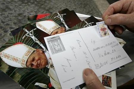 ローマ旅行なら!世界一小さな国バチカン市国から手紙を出してみよう♪