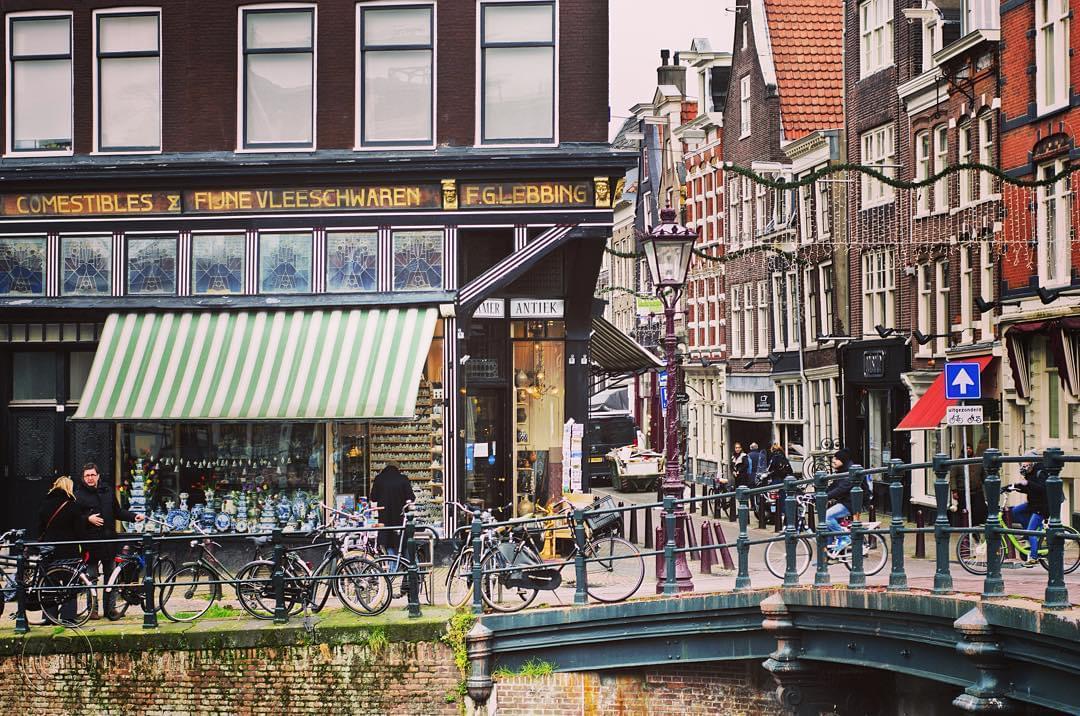 オランダ・アムステルダム、人気ショッピングストリートでお買い物三昧♡