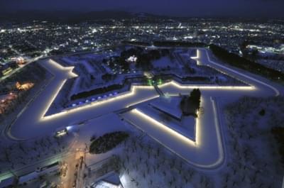 【北海道】函館に行ったら五稜郭タワー観光すべし!圧巻の星型城壁
