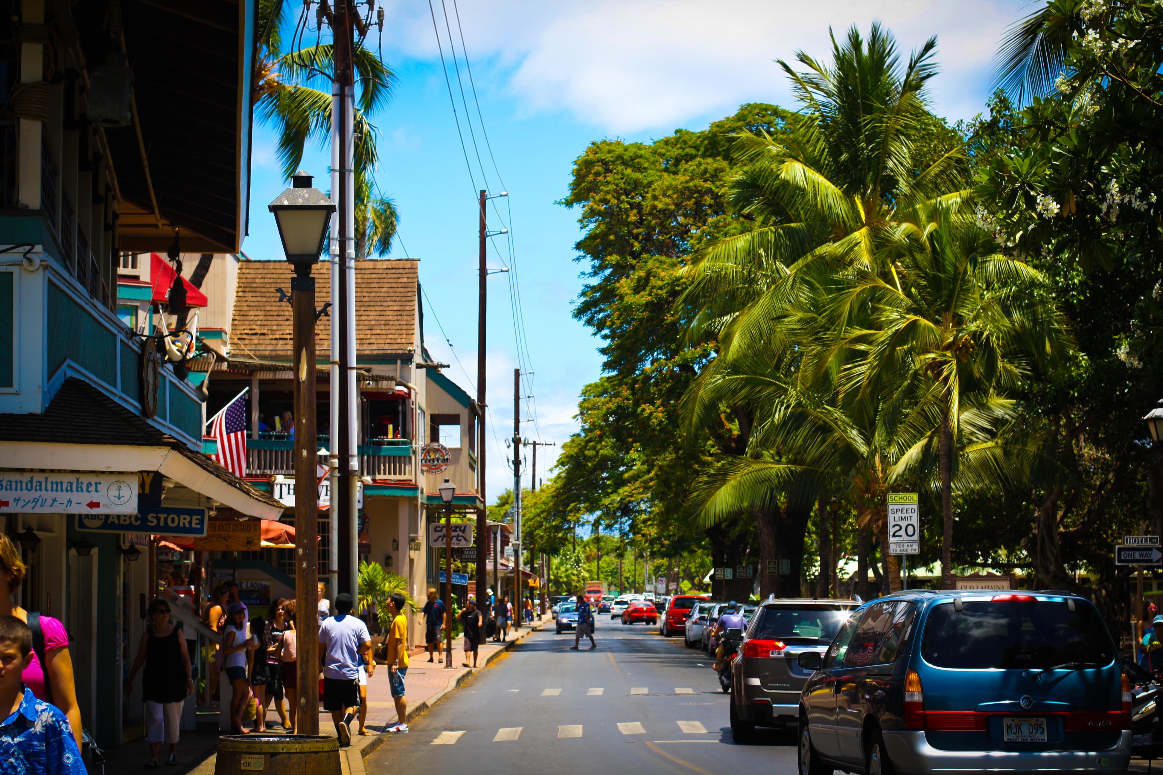 """マウイ島の観光エリア""""ラハイナ・タウン""""!おすすめショッピング、レストラン&ダイビングスポット!"""