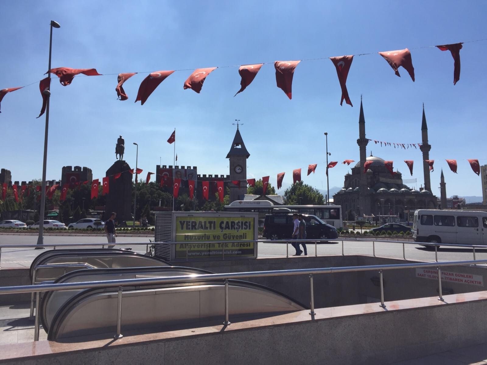 トルコ・カイセリ中心部の観光スポット!おすすめグルメにお土産も!