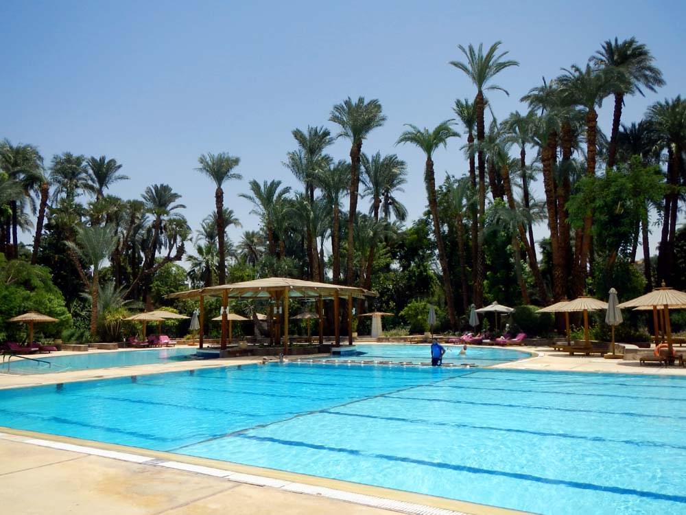 エジプト・ルクソール最高級ホテル「ウィンターパレス」で優雅なひとときを
