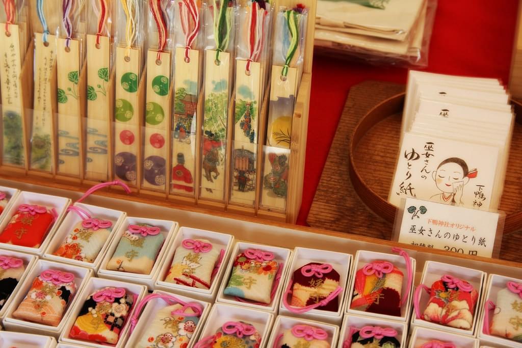 京都最強級の縁結びスポット!下鴨神社の御守りと絵馬