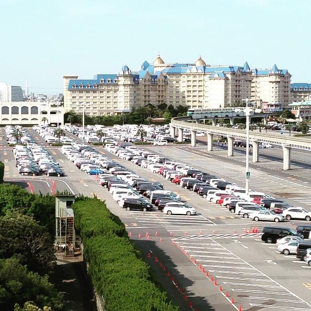東京ディズニーリゾートに車で行きたい!「サンルートプラザ東京」の駐車場事情