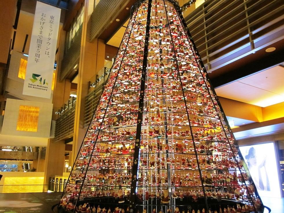 2016年も開催!東京ミッドタウン が光の街になるイルミネーションおすすめポイント