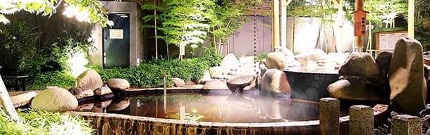 源泉かけ流しスーパー銭湯「小江戸はつかり温泉」は朝8時から深夜まで営業!