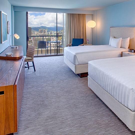 ハワイ・ホノルルで初めてのホテルなら!定番のおすすめ人気ホテル15選