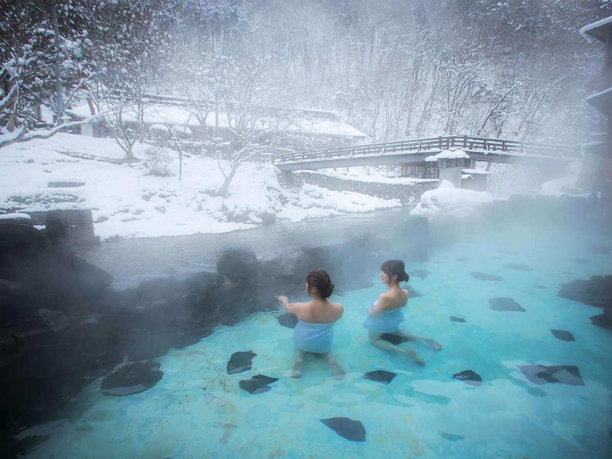 花巻南温泉峡のおすすめ旅館10選!山間の自然の中で温泉を楽しもう!
