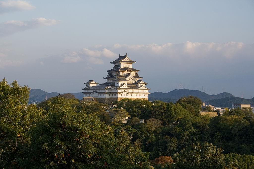 兵庫の観光名所 姫路城の仕掛けにびっくり!