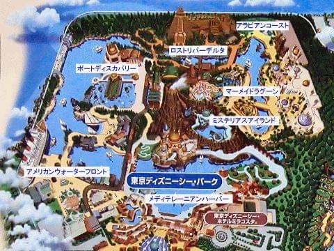 マップで見る東京ディズニーシー全攻略!