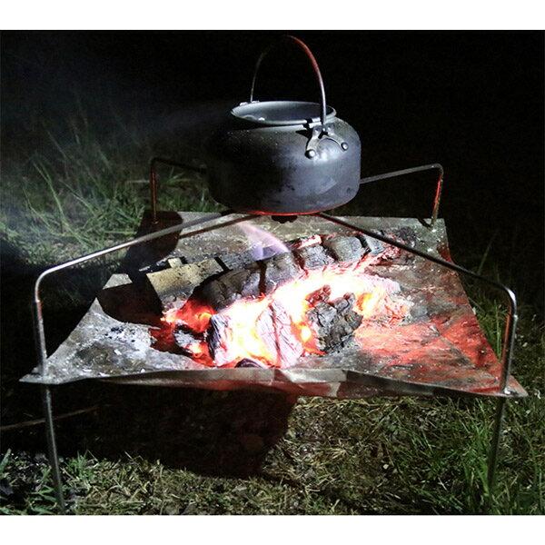 ソロキャンプで人気の焚き火台10選!持ち運びに便利なアイテムをまとめました